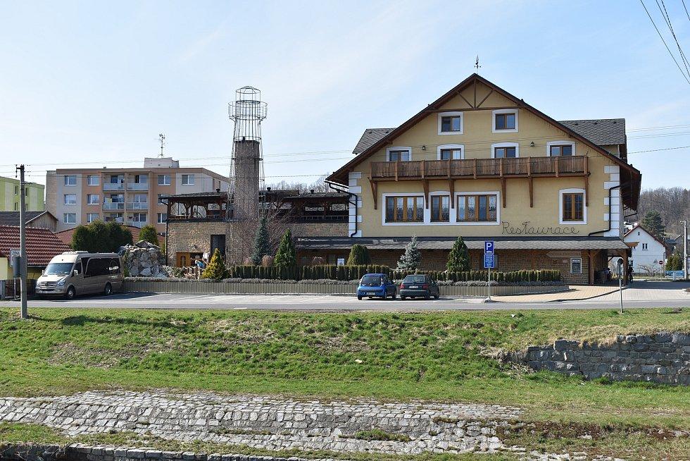 Mikulovice - restaurace Na Palubě