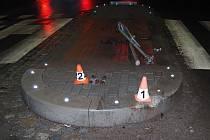 Řidičky v Zábřehu demolovaly dopravní značky na ostrůvcích