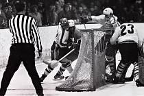 Zápas LP Šumperk proti OP Prostějov dopadl 1:2, 10. prosince 1972.