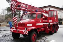 Nový stroj Praga V3S