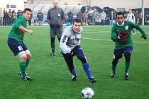 Zábřeh porazil v přípravě HFK Olomouc (zelené dresy)
