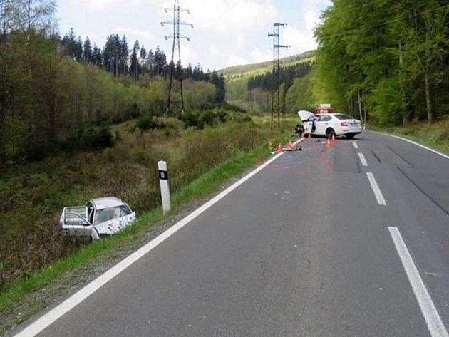 Nehoda u Lipové-lázní.
