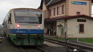 Železnice v údolí Desné