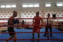 Šumperský boxer Mach válel na zápase v Prostějově
