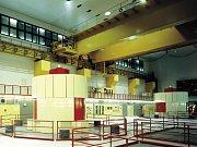 Pohled do vnitřku elektrárny Dlouhé Stráně
