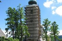 Kostel v Novém Malíně bude mít novou fasádu.