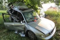 Vážná nehoda mezi Zábřehem a Postřelmovem