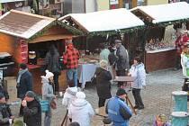 Vánoční trhy na šumperském Točáku. Ilustrační foto
