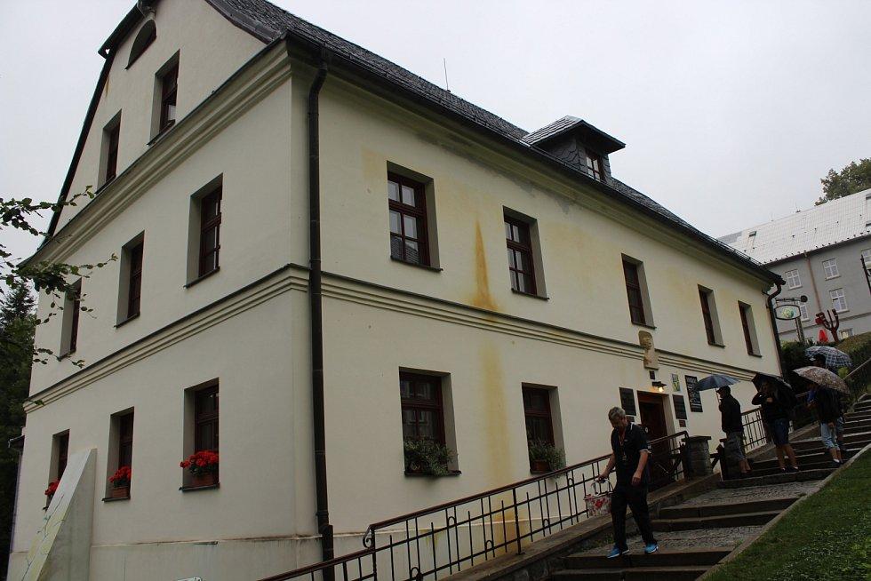 Priessnitzovy léčebné lázně v Jeseníku.