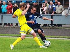 Zábřeh (v modrém) proti Šternberku
