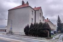 Vybydlený dům v ulici Banskobystrická v Šumperku