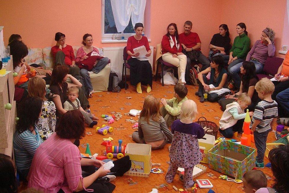 Děti a jejich rodiče ve Vikýrku