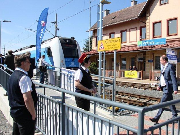Zahájení elektrického provozu na Železnici Desná