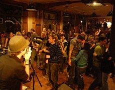 Noční jam sessiony z pátku na sobotu