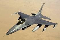 Stroj F-16.