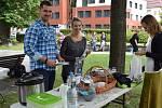 Restaurant day v sobotu 17. srpna na náměstí Svobody v Jeseníku.