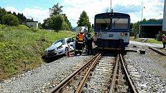 Nehoda v Lipové- lázních. Foto: