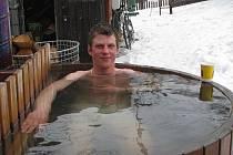 Jakub Zouhar byl s koupelí spokojen