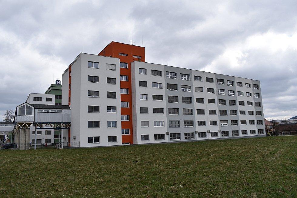 Nemocnice Šumperk. Pavilon B