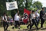 Bojová ukázka událostí začátku druhé světové války na Jesenicku v Hradci-Nové Vsi