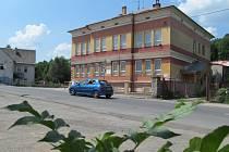 Budova Základní umělecké školy Jeseník v Březinově ulici.