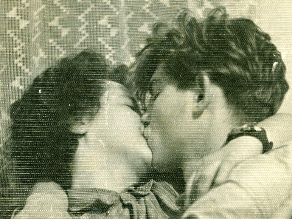 Manželé Lanšperkovi na archivním snímku.