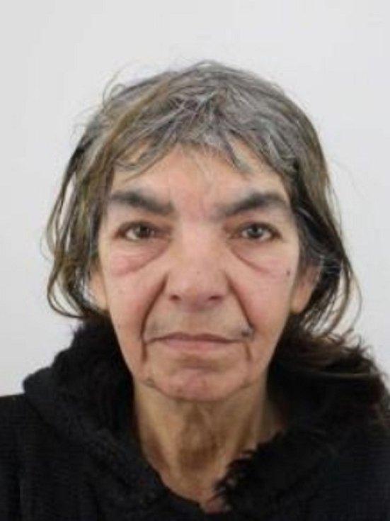 Pohřešovaná Magdaléna Nunhardová ze Zábřehu.