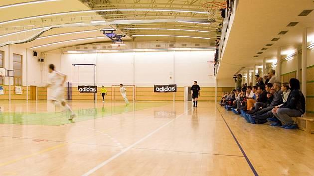 Tělocvična šumperského gymnázia