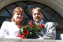 Hana Koukolská a Pavel Haintl