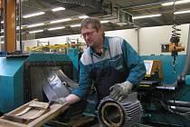 Archivní snímek z mohelnického provozu v Siemensu