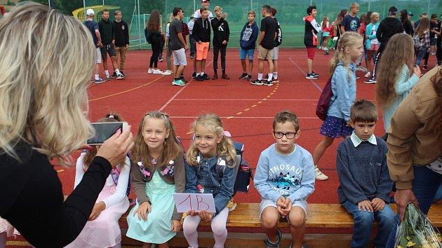 Zahájení školního roku v ZŠ Sluneční Šumperk 2. 9. 2019
