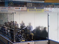 Hokejový zápas Draků ukončila mlha