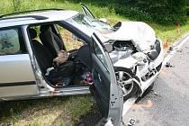 Dopravní nehoda ve Vidnavě