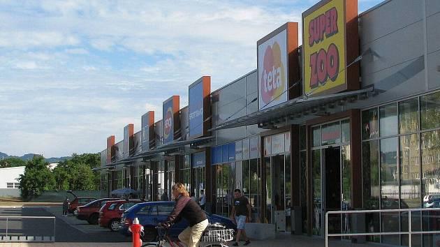 První nákupní zóna v Zábřehu