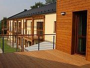 Senzion, nový komplex nájemních bytů pro seniory ve Velkých Losinách