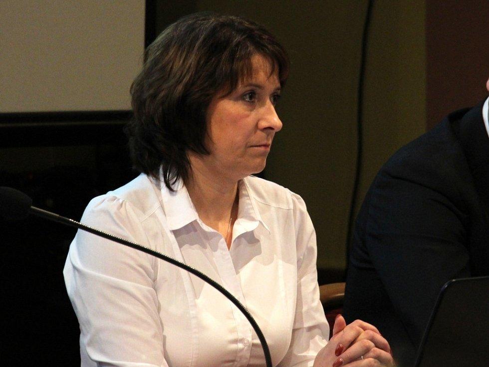 Místostarostka Jeseníku Zdeňka Blišťanová.