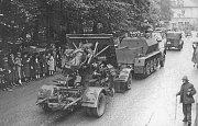 Události podzimu 1938 v Šumperku, který byl většinově německým městem.