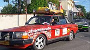 Šumperskem a Jesenickem projela stará auta v rámci akce Carbage run.