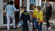 Mladí hasiči z Temenice navštívili dětské oddělení Nemocnice Šumperk