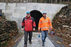 Poštovní štola ve Zlatých Horách. Důlní dílo chce radnice otevřít turistům.