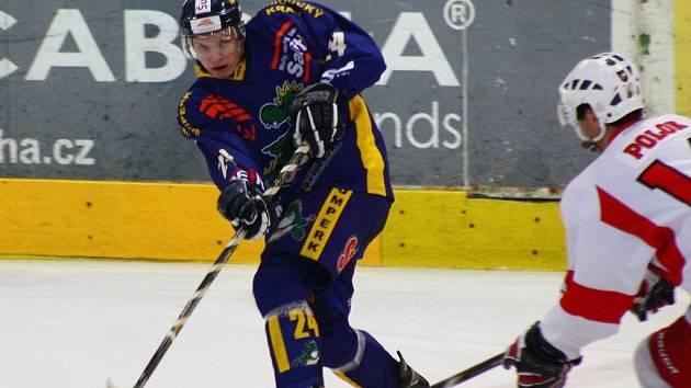 Hokejová příprava: Draci versus Opava.