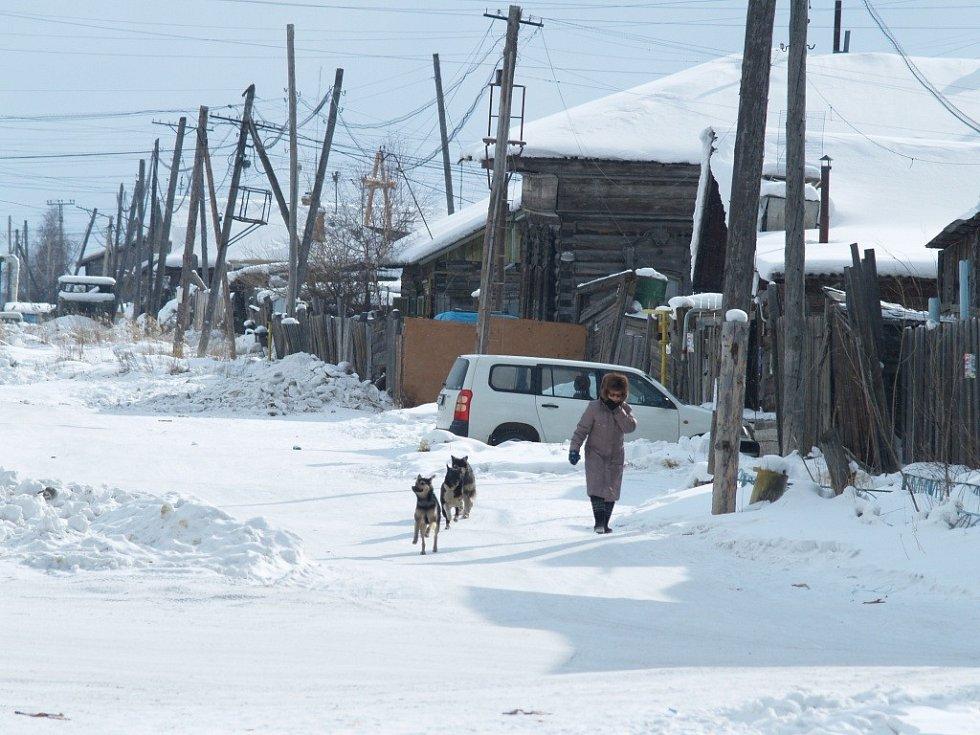 Snímky, které filmař Martin Strouhal pořídil při cestě do Jakutsku. Domlouval tam expedici na Novosibiřské ostrovy, kde žil Jan Eskymo Welzl.
