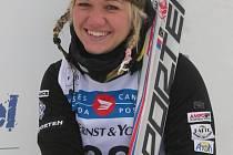 Šumperská akrobatická lyžařka Martina Konopová.