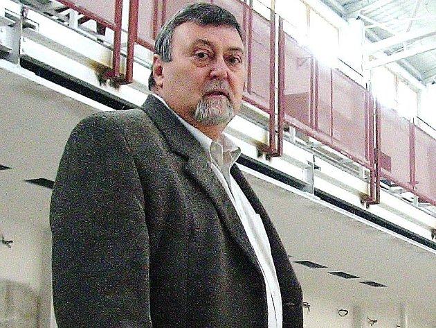 Ředitel šumperského gymnázia Vladimír Vlček