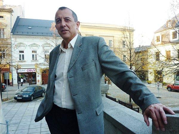 Starosta Šumperka a čerstvě zvolený senátor Zdeněk Brož.