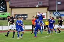 Fotbalisté Zábřehu doma porazili Litovel