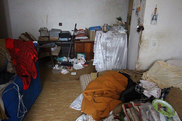 Dům číslo 44vulici Banskobystrické vŠumperku. Stav k3. březnu 2020.