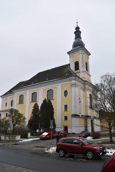 Kostel sv. Bartoloměje v Zábřehu.