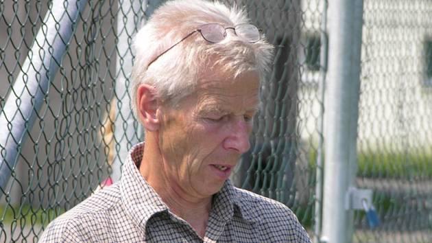 Trenér FK Šumperk Ivan Čech.