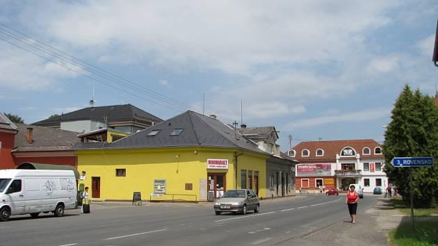 Připravovaný projekt revitalizace centra Postřelmova měl vyřešit několik problémových míst, jako jsou například autobusové zastávky.